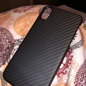 Carbon fiber iPhone X/Xs case
